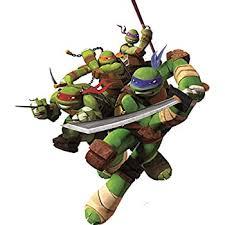 Amazon Com 5 Inch Donatello Donnie Leonardo Leo Michelangelo Mikey Raphael Raph Turtle Tmnt Teenage Mutant Ninja Turtles Removable Peel Self Stick Wall Decal Sticker Art Kids Decor Boys Room 4 3 4 X