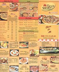 almaida pizza garden faisalabad menu