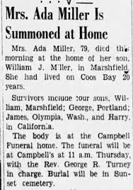 Obituary for Ada Miller (Aged 79) - Newspapers.com