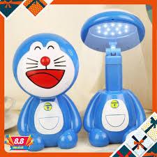 Đèn Học Kiêm Đèn Ngủ Để Bàn Chống Cận Doremon Cute Lạc Lối