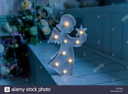 Photo Of Nightlight In The Shape Of Angel In The Children S Room Lamp Kids Night Light In The Children S Bedroom In The Shape Of An Angel Night Light Copy Space Stock Photo Alamy