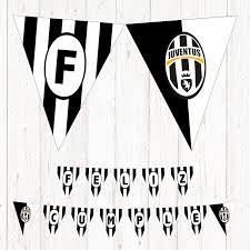 Juventus Banderin Imprimible Feliz Cumple Futbol Juventus