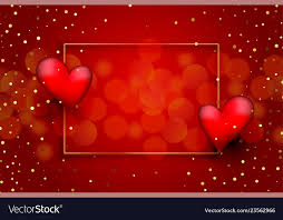 beautiful red love background with