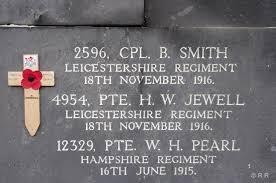 Corporal Bertie H Smith | Rutland Remembers