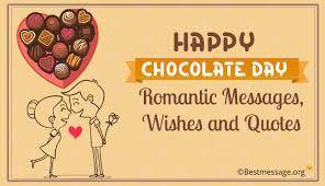 chocolate day messages chocolate day wishes and quotes