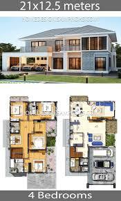 house plans idea 21x12 5 with 4