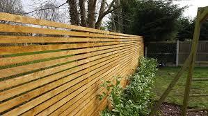 Custom Built Slatted Fence Case Study