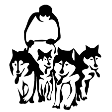 14 7 16 8cm Husky Dogs And Sledge Vinyl Decal Creative Car Stickers Car Styling Truck Decoration Black Silver S1 1043 Stickers Bulk Sticker Keyboardstickers Opel Aliexpress