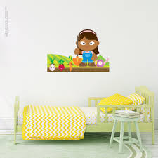 Vegetable Garden Wall Decal Imagicolors
