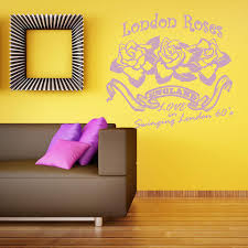 London Roses Wall Decal Style And Apply