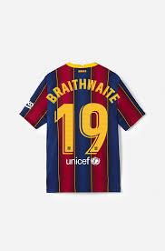 Shirt MATCH 20/21 - La Liga - Junior - BRAITHWAITE | 19 - Braithwaite |  Players | categories | Barça Store