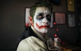mask joker sad clowns darkness