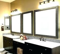 bathroom vanity mirror lighting ideas