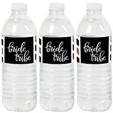 Bride Tribe Bridal Shower Or Bachelorette Party Water Bottle Sticker Labels Set Of 20 Walmart Com Walmart Com