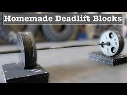 make your own deadlift blocks you