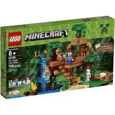 LEGO Minecraft 21125 - Nhà Cây Khổng Lồ Của Steve Và Alex – NERF ...
