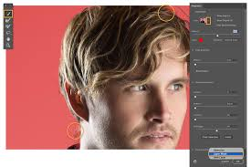 how to select hair adobe photo