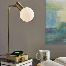 modern deco led wireless charging usb