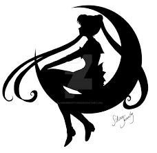 Sailor Moon Silhouette Free Sailor Moon Silhouette Png Transparent Images 39141 Pngio