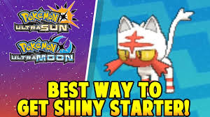 SHINY STARTERS! - Pokemon Ultra Sun and Ultra Moon Best Way to get ...