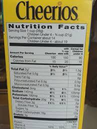 cheerios nutrition chart catan vtngcf org