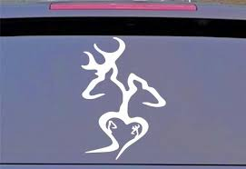 5 Pack Browning Double Deer Family Permanent Vinyl Decal Laptop Car Sticker 6 Ebay