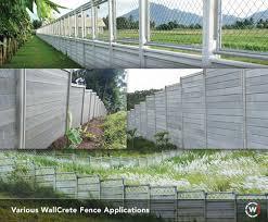 Fences Wallcrete