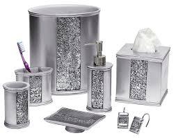 silver bathroom accessories astonishing