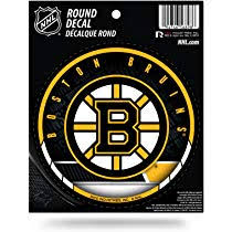 2x Boston Bruins Nhl Vinyl Decal Sticker Many Colors Car Window Wall Truck
