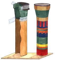make a drum dumbek darbuka
