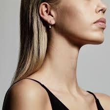 Earrings : Sophia : Rose Gold Plated - Pilgrim