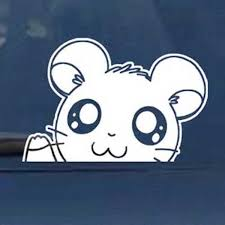 Hamtaro Car Window Decal Shut Up And Take My Yen