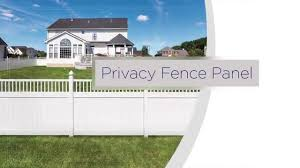 Freedom Ready To Assemble Privacy Vinyl Fence Installation Overview Youtube