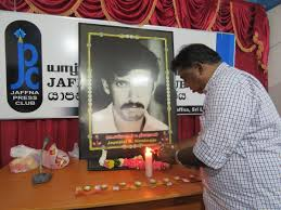 Image result for Mylvaganam Nimalarajan, Jaffna correspondent of the BBC Tamil
