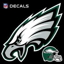 Amazon Com Eagles 12 Logo Decal With Bonus Decal Flat Vinyl Reusable Repositionable Auto Home Football Kitchen Dining