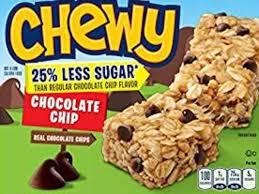 chocolate chip chewy granola bar