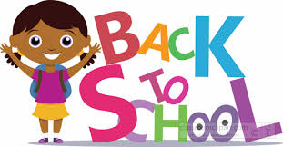 Young Female Student Standing Aside Text Back To School Clipart ...