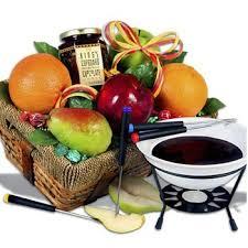 fondue favorites gift basket by