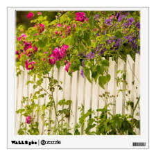Picket Fence Wall Decals Stickers Zazzle