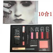nars 10 piece set of makeup gift box