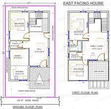 south facing duplex house vastu plans