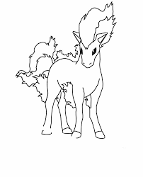 Pokemon Ponyta Coloring Pages Pokemon Coloring Pages Pokemon
