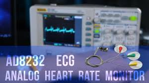 ad8232 ogl heart rate sensor single