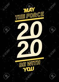 May The Force Be With You For Your Seasonal Leaflets And Greeting.. Royalty  Free Cliparts, Vectors, And Stock Illustration. Image 122712288.