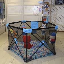 Hot Sale Foldable And Convenient Home Game Fence Baby Entertainment Safety Fence Crawling Toddler Fence Baby Protection Shopee Singapore