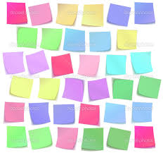 color sticky notes wallpaper 7922