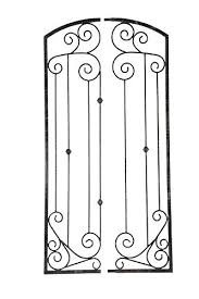 wrought iron wall planters outdoor