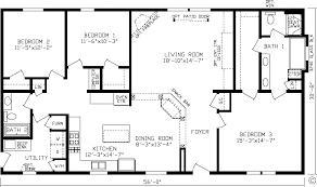 modern open floor house plans es