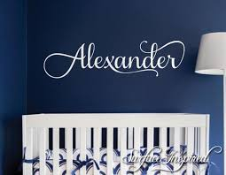 Nursery Wall Decal Personalized Names Kids Wall Decal For Girls Or Boy Surface Inspired Home Decor Wall Decals Wall Art Wooden Letters