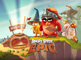 Angry Birds: Epic (2014) promotional art - MobyGames